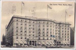 The Copley Plaza, Boston MA