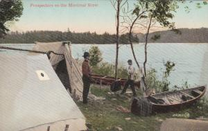 Ontario, Canada, 00-10s ; Prospectors on the Montreal River
