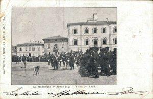 Italy La Maddalena 23 Aprile 1899 Visita dei Reali 03.07