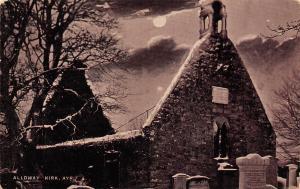 Scotland Alloway Ayr Allmhaigh Kirk Church kirche eglise