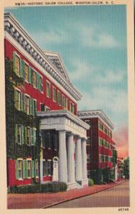 North Carolina Winston Salem Historic Salem College