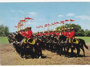 Canada Royal Canadian Mounted Police Drilling For Musical Ride