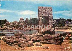 Postcard Modern Ploumanac'h C N Oratory St Guirec and Napoleon's Hat
