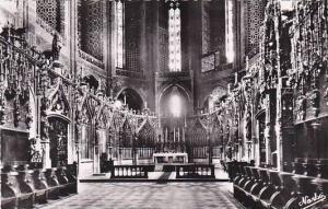 France Albi Le Maitre-Autel et le Grand Choeur de la Basilique Real Photo