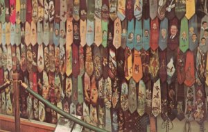 NASHVILLE, Tennessee, 1950-60s; Collection of Hand Painted Ties from Roy Acuf...