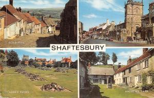 Shaftesbury, Abbey Ruins High Street Andrew's Yard Gold Mill