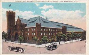 Armory 23D Regiment, Bedford and Atlantic Aves., Brooklyn, New York,   PU-1928