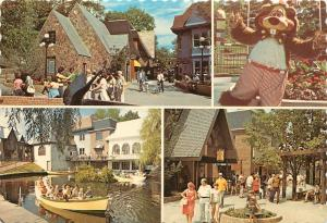 Storytown USA Lake George NY NEW YORK INTERNATIONAL VILLAGE Postcard