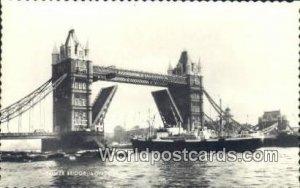 Tower Bridge London UK, England, Great Britain Unused