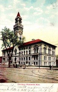 Massachusetts Worcester City Hall 1907
