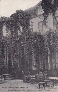 MONTREUIL SUR MER, Pas De Calais, France, 1900-1910s; Interieur De L'Hotel De...