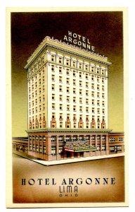 OH - Lima. Hotel Argonne