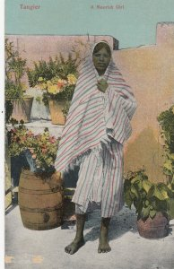 TANGER , Morocco , 00-10s ; A Moorish girl