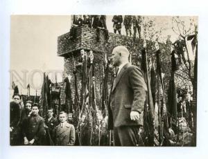 195118 GERMANY Ernst THELMAN in Berlin 1929 old postcard