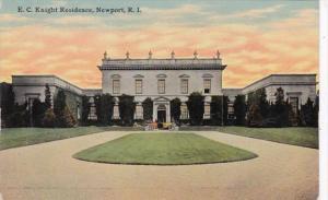 Rhode Island Newport E C Knight Residence