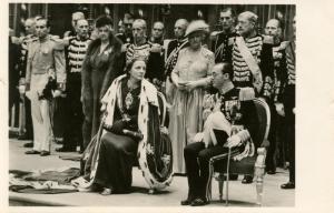 Dutch Royalty -  Prince Bernhard and Juliana   *RPPC
