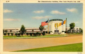 NY - 1939 New York World's Fair. Administration Building