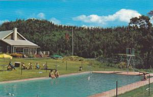 Swimming Pool,  Captain Morgan's Lodge,  Vancouver Island,  Canada,  40-60s