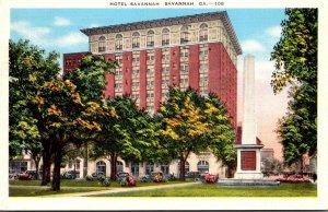 Georgia Savannah Hotel Savannah 1941