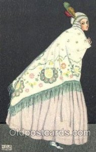 Artist Signed B.K.W.I. 384-6, Mela Koehler writing on back