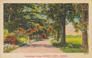 Greetings From Union City Connecticut
