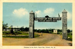 Canada - ON, North Bay. Gateway of the North