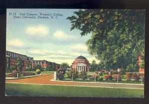 Durham, North Carolina/NC Postcard, East Campus, Women's College,Duke University