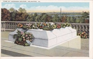 Tomb Of Unknown Soldier Arlington Virginia