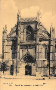 France Facade du Monastere a Batalha Postcard