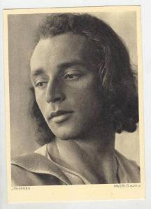 Oberammergau, Bavaria, Germany, 1950 Passion play actor  JOHANNES, Magold Martin