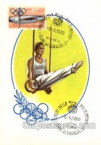 Olympic XVII Rome Itally, 1960 Postcard Postcards