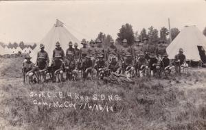 RP; CAMP McCOY , Wisconsin , 1914 ; Army Unit Portrait