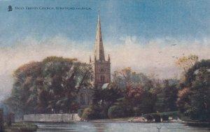 STRATFORD-ON-AVON , England , 1900-10s ; Holy Trinity Church ; TUCK 774