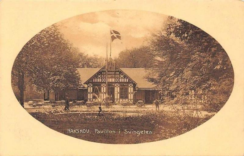 Danmark Nakskov, Pavillon i Svingelen, Danish Flag