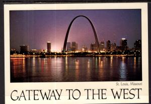 Skyline at Night,St Louis,MO BIN
