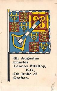 Sir Augustus Charles Lennox FitzRoy K.G. 7th Duke of Grafton, Coat of Arms 1908