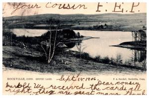 Connecticut Rockville  , Snipsic lake
