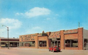 Liberal KS Paul W. Light Lumber Company MG Car  Postcard