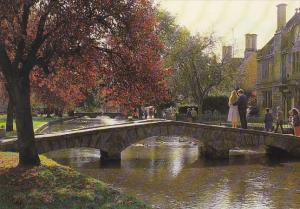 England Romance of the Bourton-on-the-Water Gloucestershire
