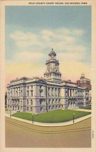 Polk County Court House, Des Moines, Iowa, 30-40s