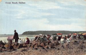 South Africa Durban Ocean Beach postcard