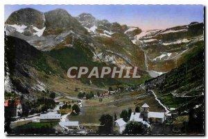 Old Postcard Gavarnie Vue generale