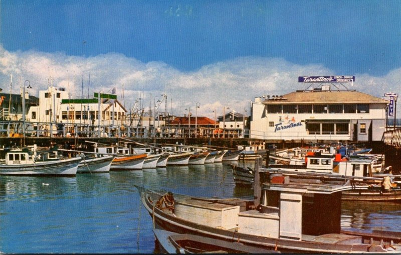 California San Francisco Fisherman's Wharf Showing Tarantino's Rest...