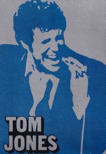 Tom Jones Invitation at BBC Studios London Tube Directions Map Card
