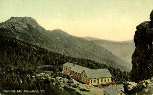 VT -  Mt Mansfield Summit