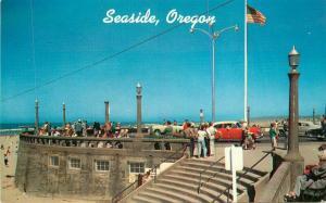 Autos 1950s Seaside Oregon Postcard Smith Scenic Colorpicture 5982