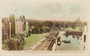 RP, VICTORIA, B.C.,1920-1940s; Empress Hotel, Parliament Bldgs. & Inner Harbour