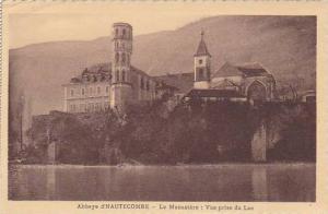 France Abbaye d'Hautecombe Le Monastere Vue prise du Lac
