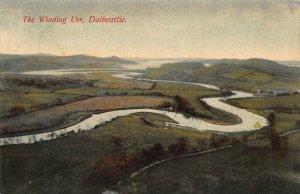 DALBEATTIE SCOTLAND UK~THE WINDING URR~BONNIE GALLOWAY SERIE #192 PHOTO POSTCARD