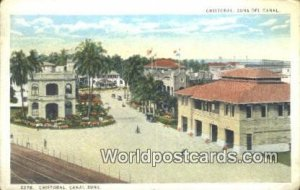 Cristobal Canal Zone Panama Unused